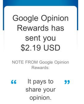 March Google Rewards